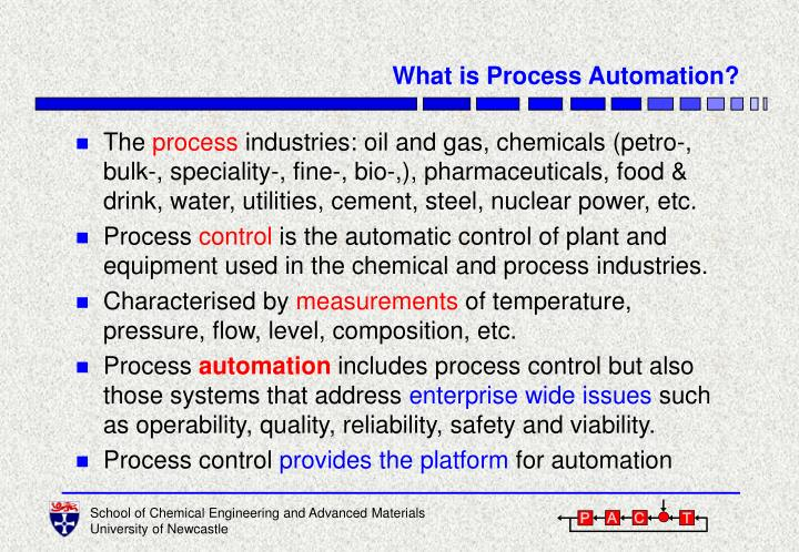 What is process automation