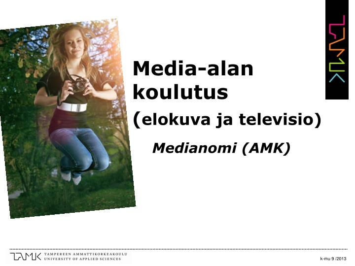 Media-alan koulutus