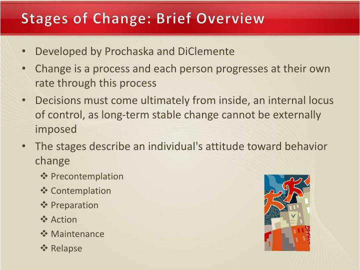 Stages of Change: Brief Overview