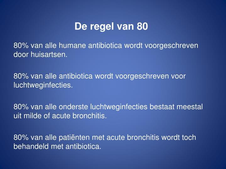 De regel van 80