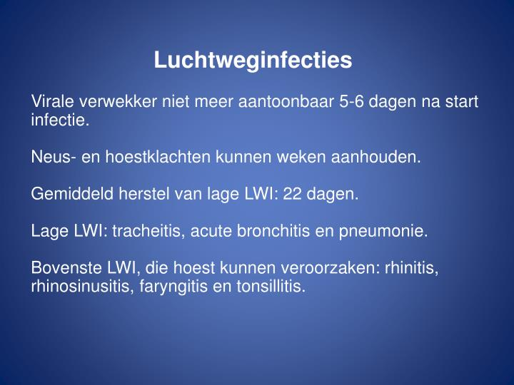 Luchtweginfecties
