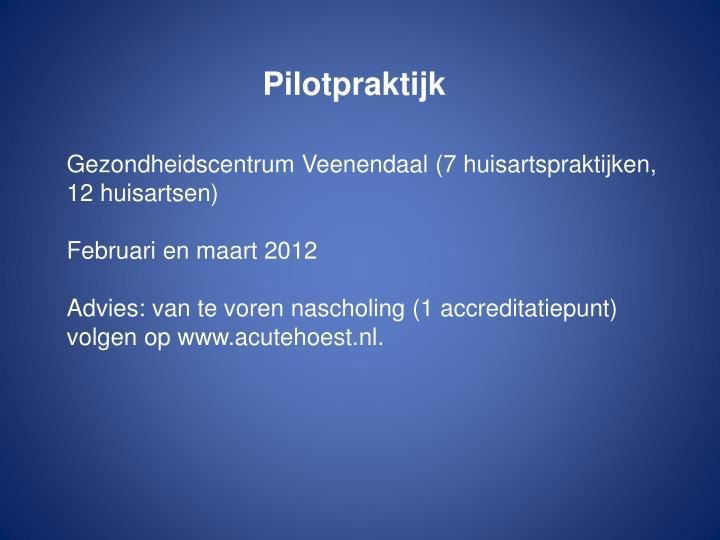 Pilotpraktijk