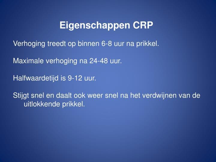 Eigenschappen CRP
