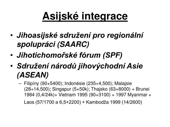 Asijské integrace