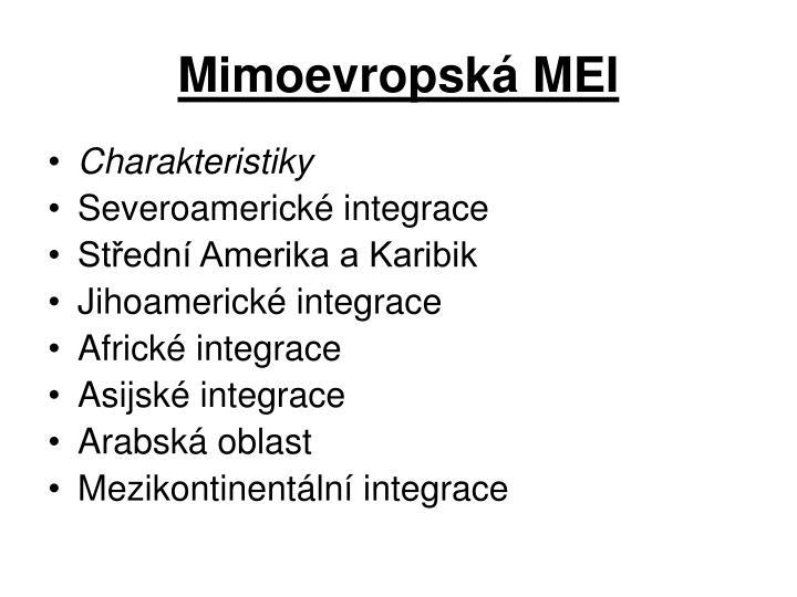 Mimoevropská MEI