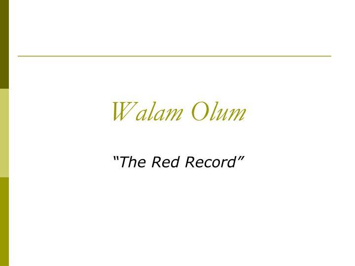 Walam Olum