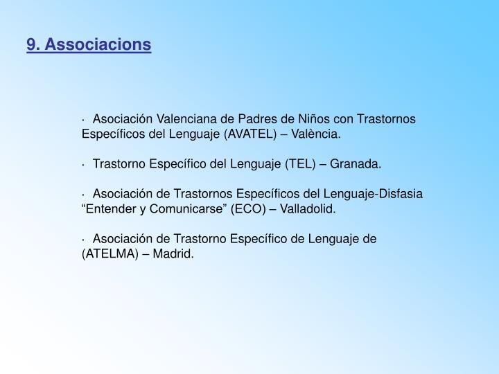 9. Associacions