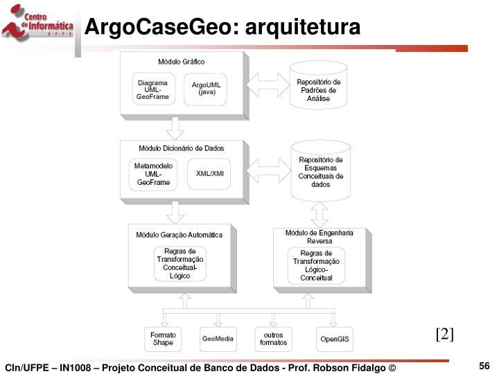 ArgoCaseGeo: arquitetura