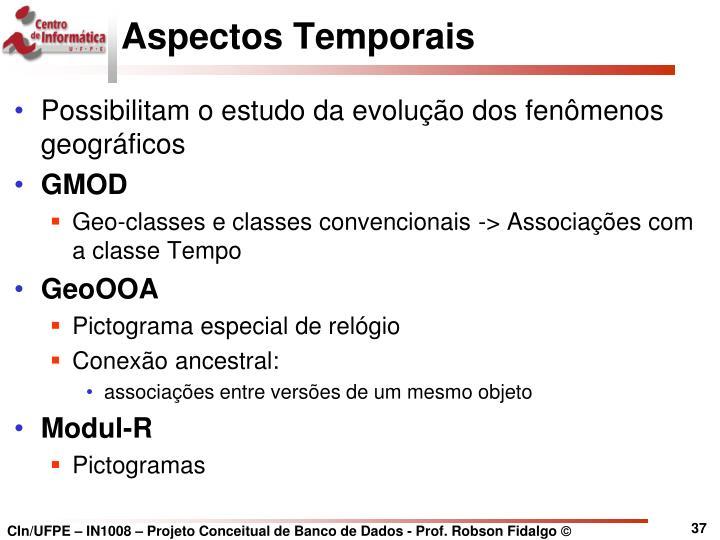 Aspectos Temporais