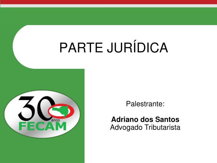 PARTE JURÍDICA