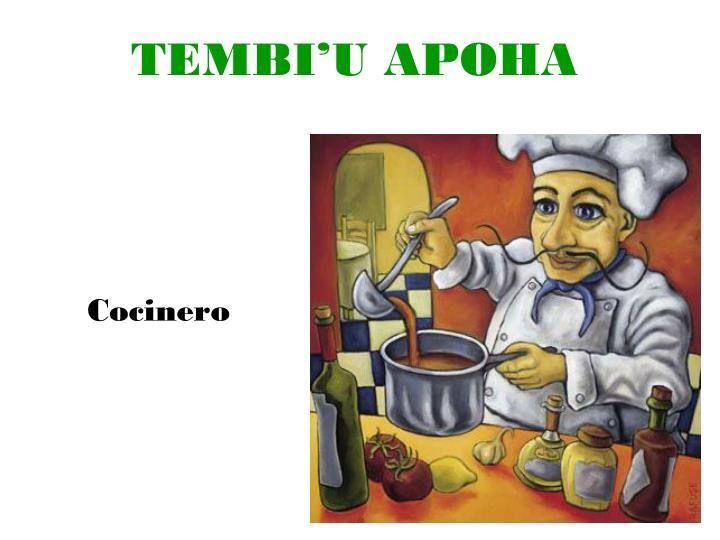 TEMBI'U APOHA