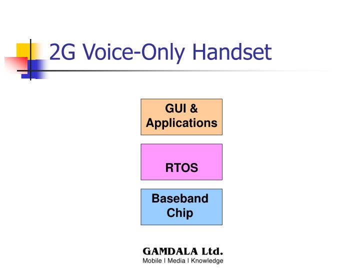 2G Voice-Only Handset