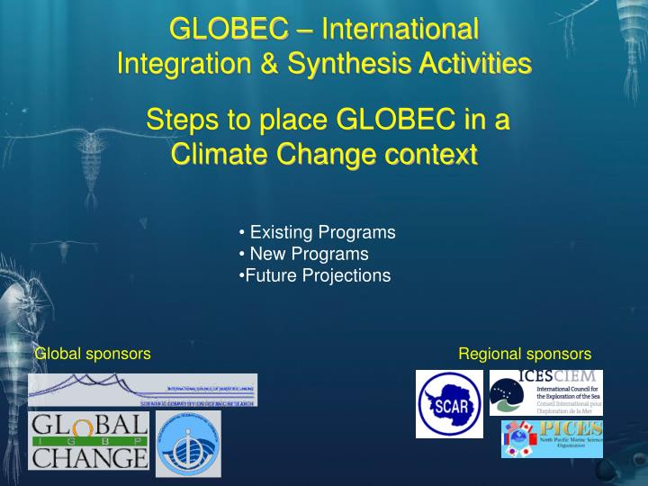 GLOBEC – International