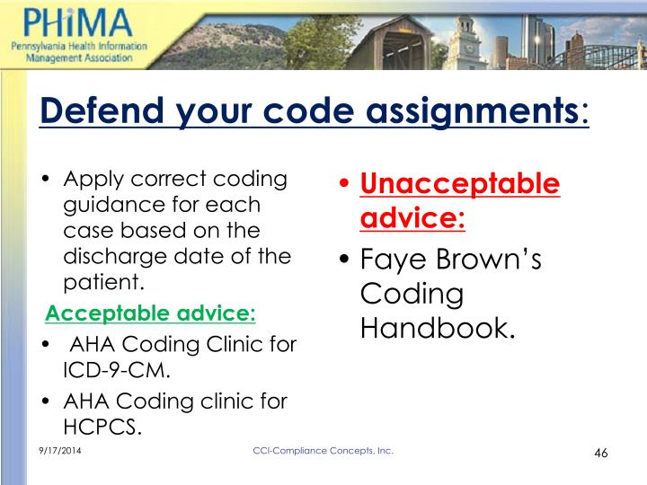 Defend your code assignments