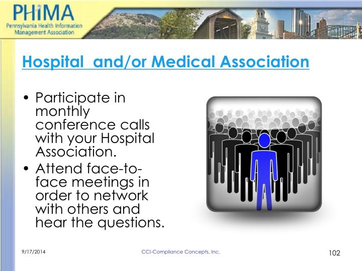Hospital  and/or Medical Association