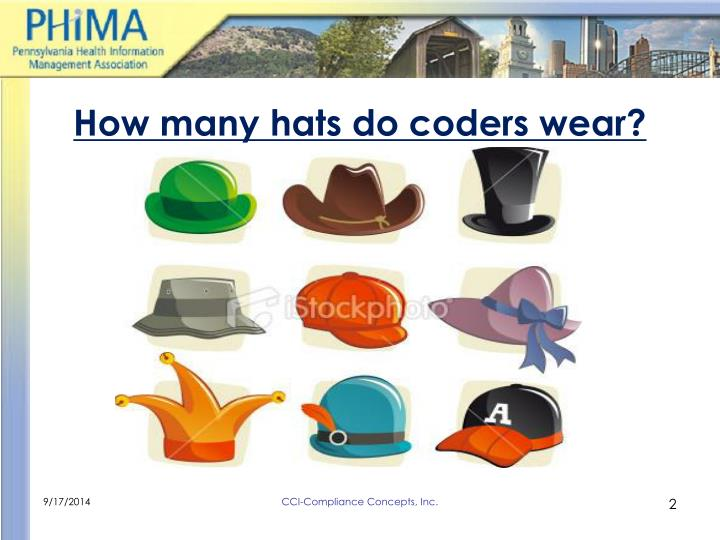 How many hats do coders wear