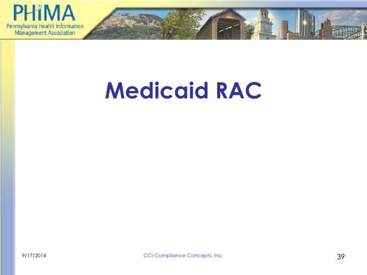 Medicaid RAC