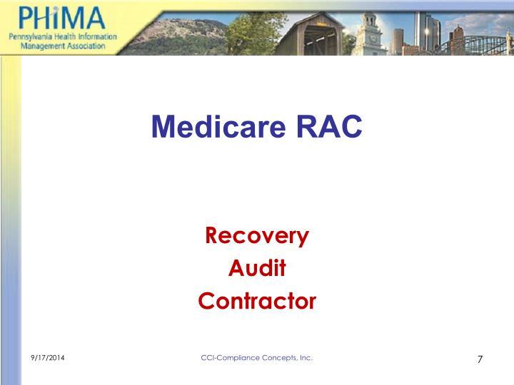 Medicare RAC