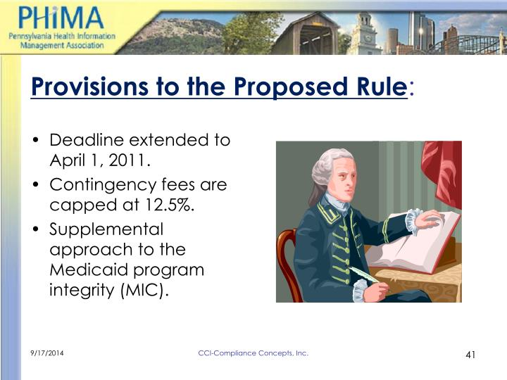 Provisions to the Proposed Rule