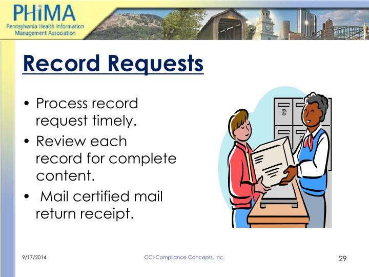 Record Requests