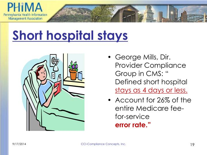 Short hospital stays