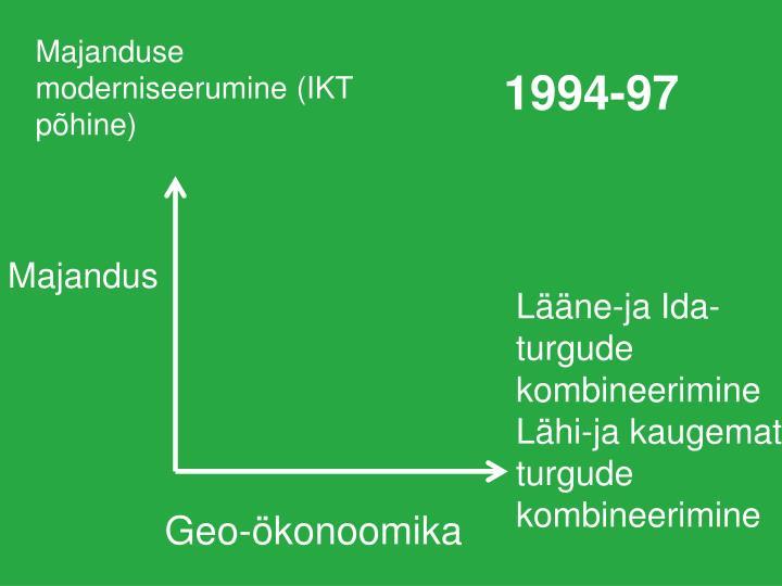 Majanduse moderniseerumine (IKT põhine)