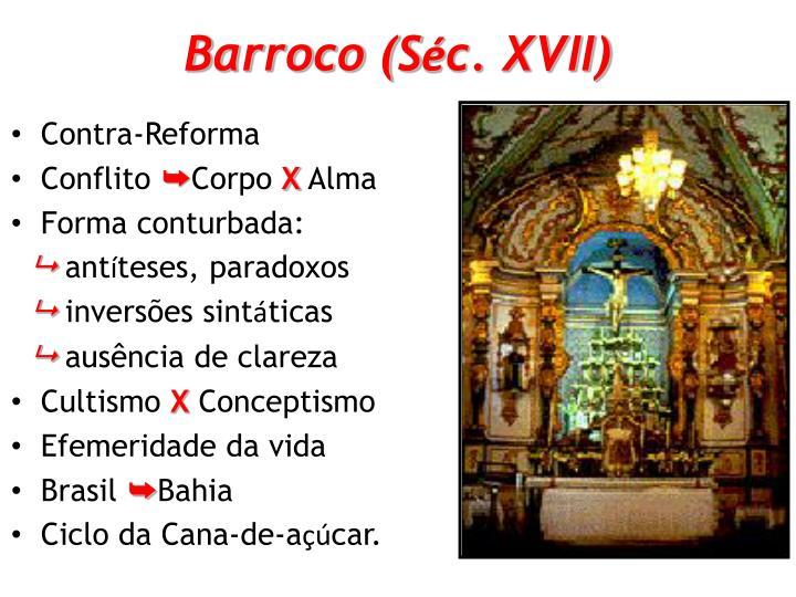 Barroco (S