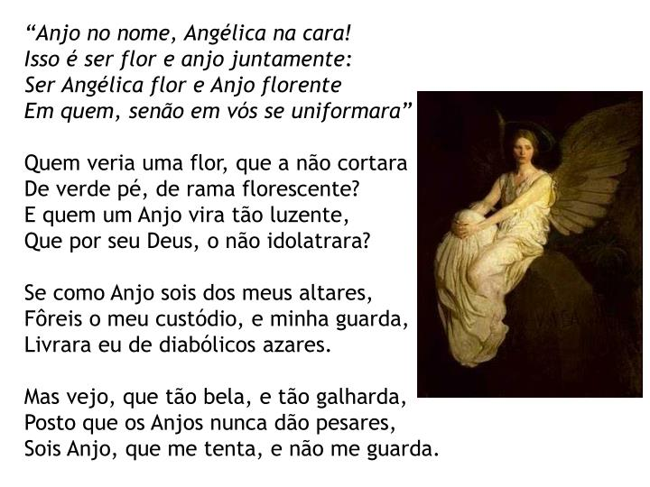 """""""Anjo no nome, Angélica na cara!"""