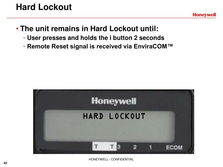 Hard Lockout