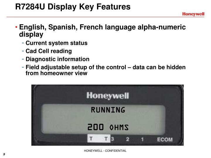 R7284U Display
