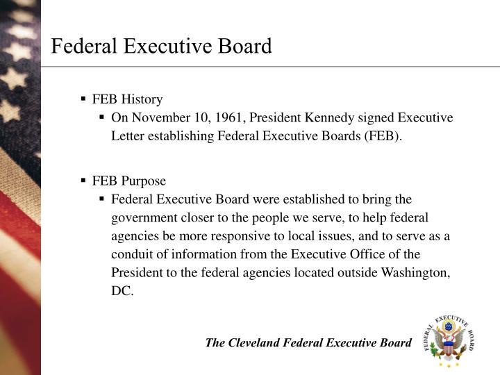 Federal Executive Board