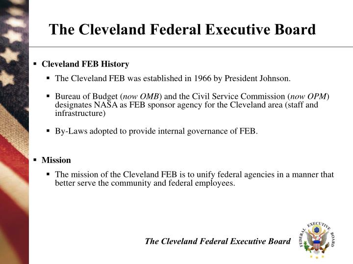 The Cleveland Federal Executive Board