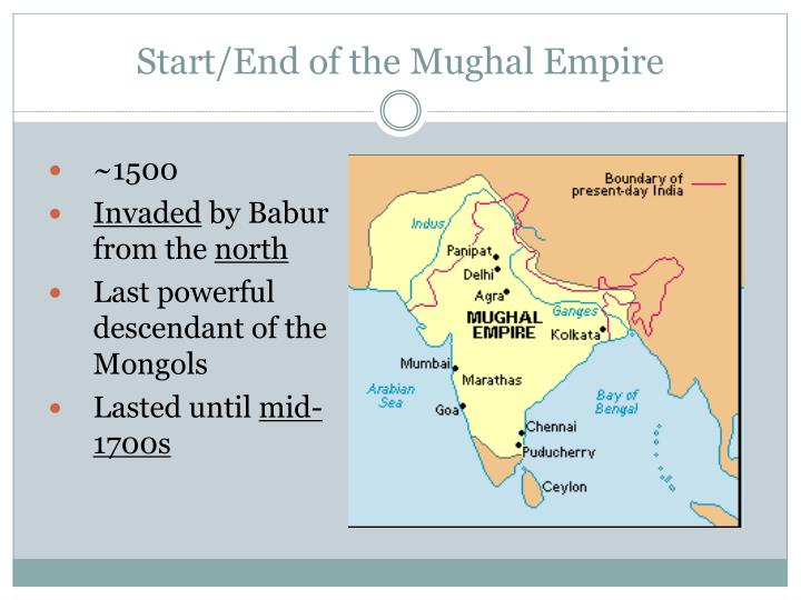 the impact of the mughal empire in india The mughal legacy: the golden age of northern india, 1526-1858 the greatest flourishing of northern indian culture, art, and imperial strength undoubtedly took place during the reign of the mughal monarchs of the 16th and 17th centuries.