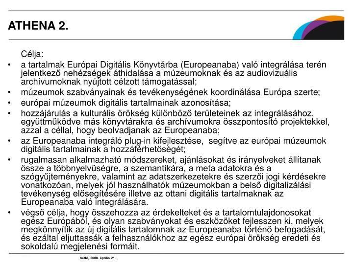 ATHENA 2.