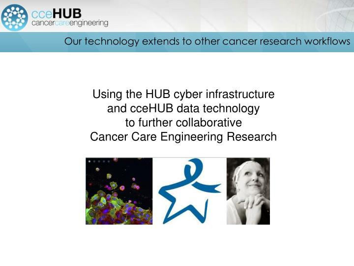 Our technology extends to other cancer research workflows