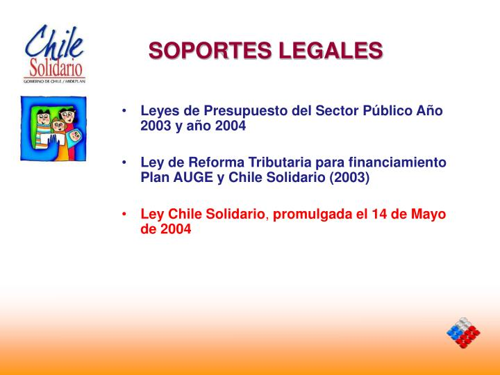 SOPORTES LEGALES