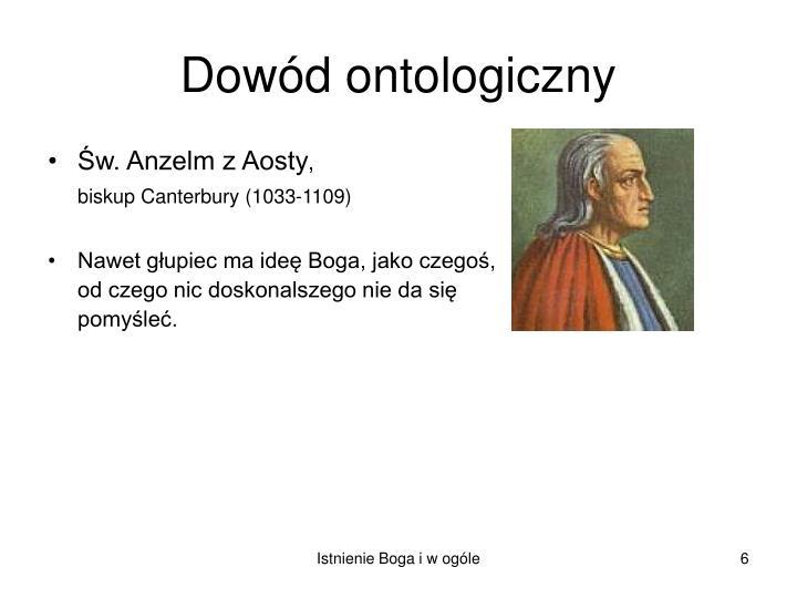 Św. Anzelm z Aosty