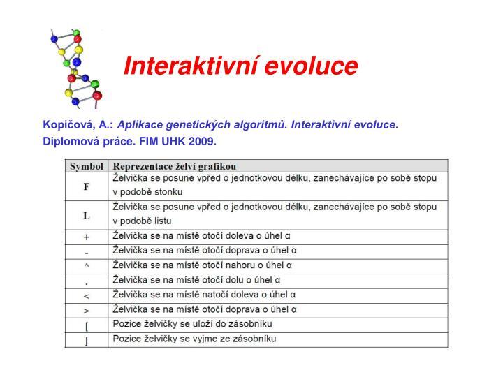 Interaktivní evoluce