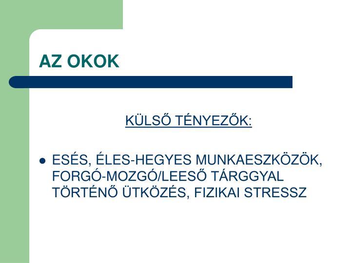 AZ OKOK