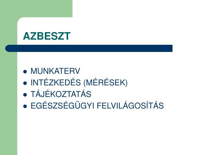AZBESZT