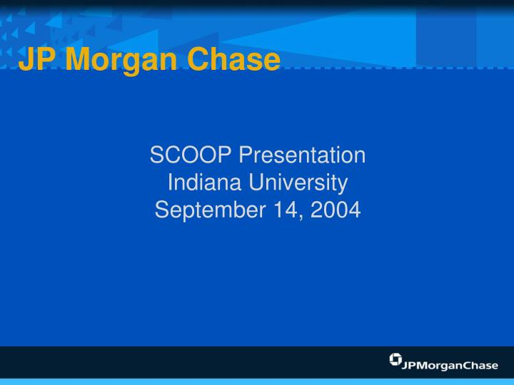 Scoop presentation indiana university september 14 2004