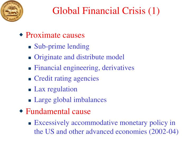 Global Financial Crisis (1)
