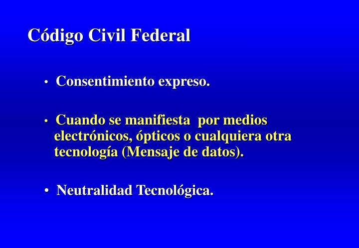 Código Civil Federal