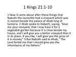 1 kings 21 1 10