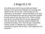 1 kings 21 1 101