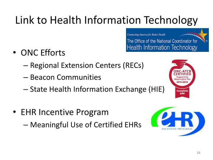 Link to Health Information Technology