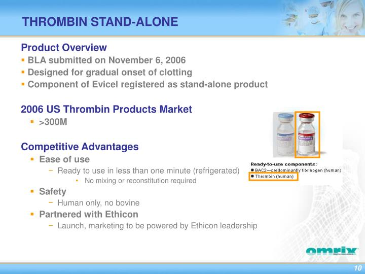 THROMBIN STAND-ALONE