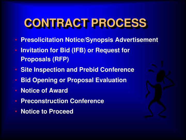 CONTRACT PROCESS