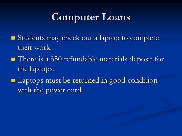 Computer Loans