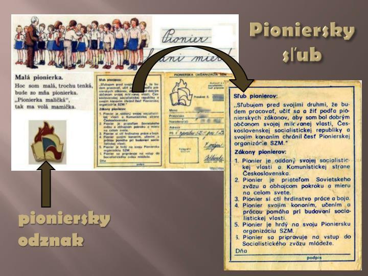 Pioniersky sľub